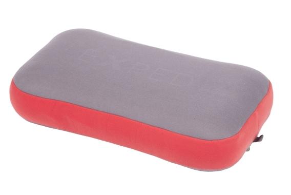 Mega Pillow grey-ruby red
