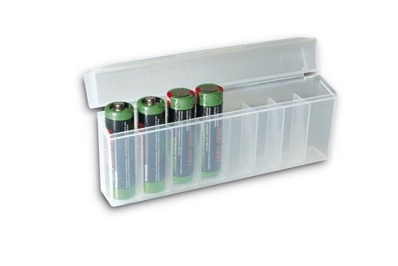 Akku-Box für 8 Akkus/Batterien