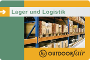 Outdoorfair Lager und Logistik
