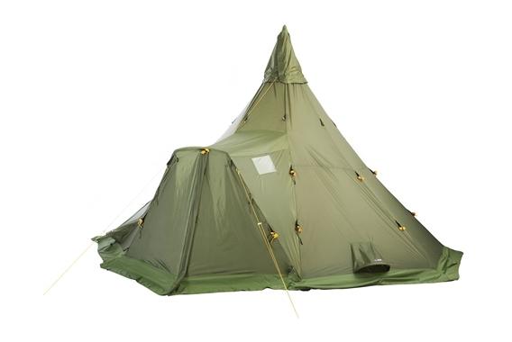 Varanger Camp 8-10 Außenzelt und Gestänge