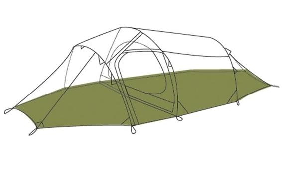 Fjellheimen Camp 2 Footprint