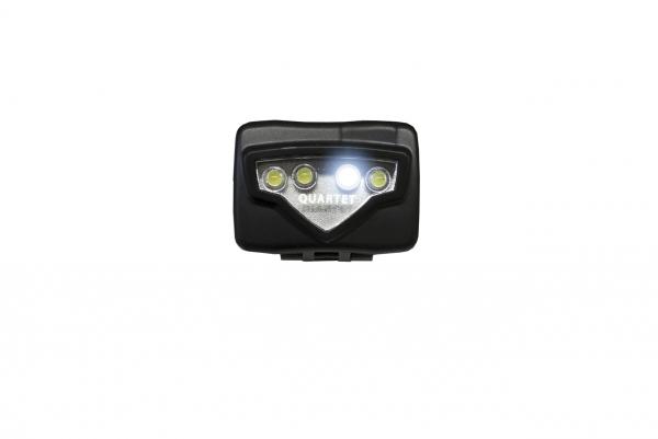 Basic Nature LED Stirnlampe Quartet 4 LED's