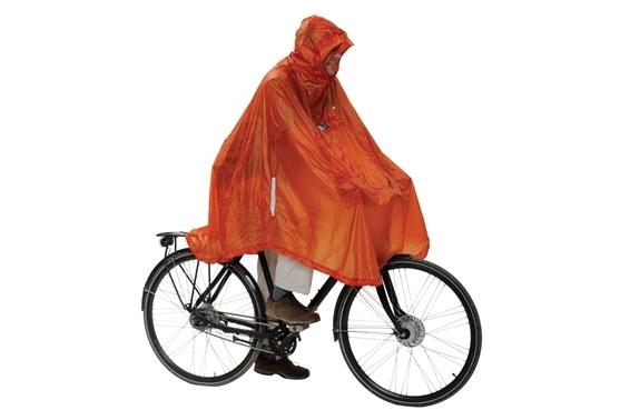 Daypack & Bike Poncho UL Terracotta