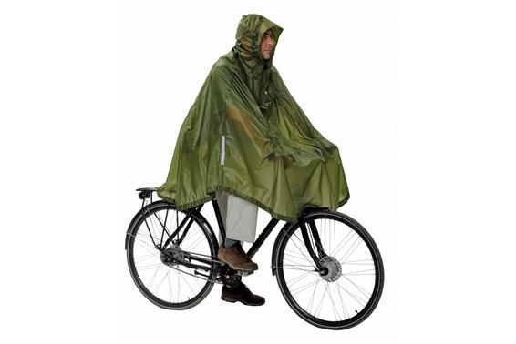 Daypack & Bike Poncho UL Grün
