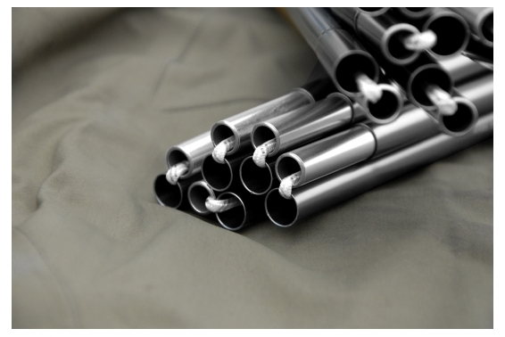 Stange für Keron 3 / 3 GT / Nammatj 3 / 3 GT (328 cm x 10 mm) grau