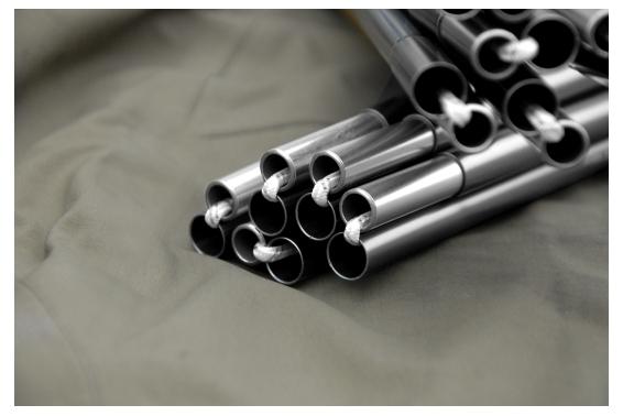 Stange für Staika (387cm x 10mm) grau